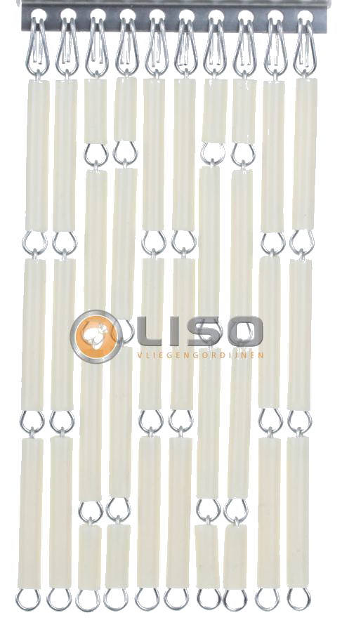 Vliegengordijn, Liso ® Vliegengordijnen Creme Kant en Klaar 92x209cm