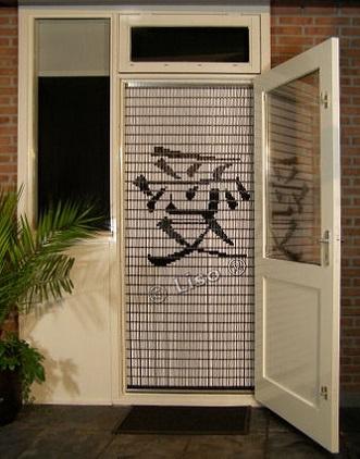 041 Liso vliegengordijn Liefde Chinees teken, Vliegengordijn met motief,