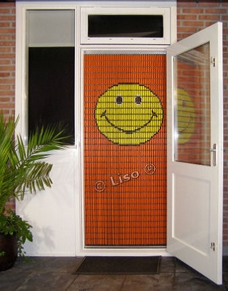 Vliegengordijn, Liso, Liso Vliegengordijn, Vliegengordijn Smiley,